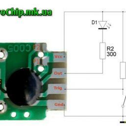 Taymer c005 , modul zaderzhki, rele vremeni ot 2 sek do 1000 chasov_5_ElectroChip.mk.ua
